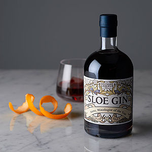 Personalised Sloe Gin - for cocktail lovers