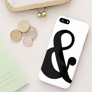 Ampersand iPhone Case