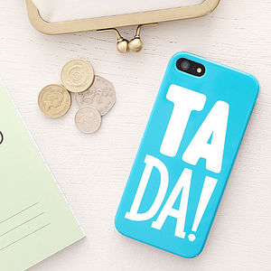 'Ta Da!' Case For iPhone - shop london