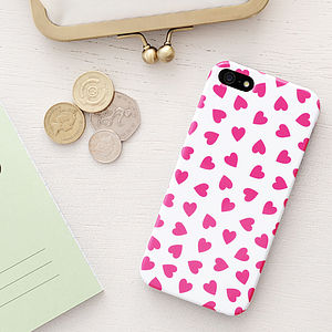 Hearts iPhone Case - women's accessories