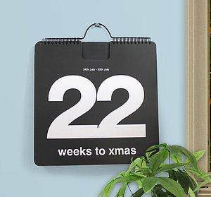 Countdown To Christmas Calendar - advent calendars & countdowns