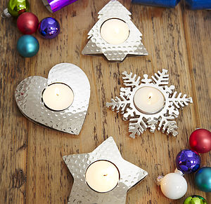 Festive Tea Light Holders - kitchen