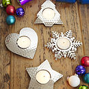 Festive Tea Light Holders