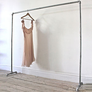 Galvanised Steel Freestanding Clothes Rail - stands, rails & hanging space