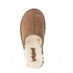 Mens Sheepskin Slipper Mules - gifts under £100 for him