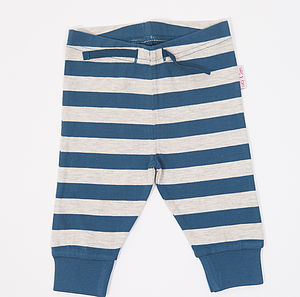 Boys Striped Joggers - trousers & leggings