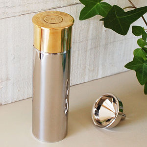 Cartridge Hip Flask - gifts for grandfathers