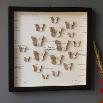 Bespoke Butterfly Book Artwork