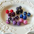Silk Knot Cufflink Selection