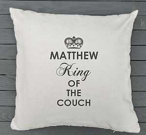 Personalised Men's Cushion - cushions
