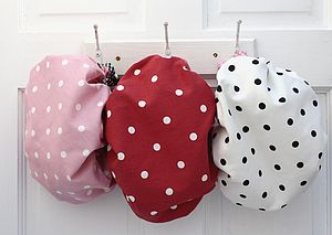 Shower Caps Spotty Collection - beauty & pampering