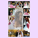 Wedding Photo Montage and Personalised Poem