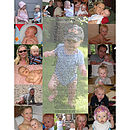 Baby Photo Montage and Personalised Poem