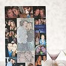 Valentine Photo Montage and Personalised Poem