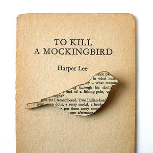 To Kill A Mockingbird Classic Book Brooch - women's jewellery
