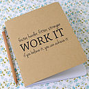 Fitness And Exercise Notebook