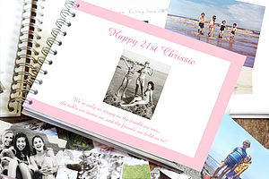 Personalised Birthday Keepsake Book - stationery & desk accessories