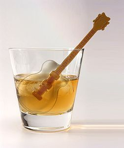Guitar Ice Cube Tray - glassware