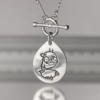 Pendant From Your Child's Drawing