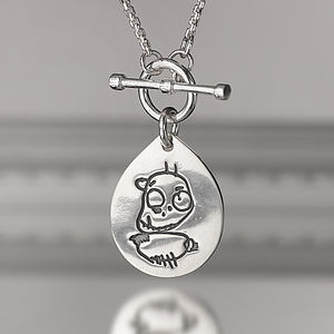 Pendant From Your Child's Drawing - necklaces & pendants