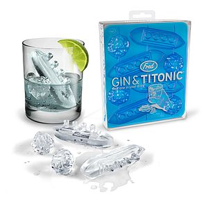 Gin And Titonic Ice Trays - kitchen