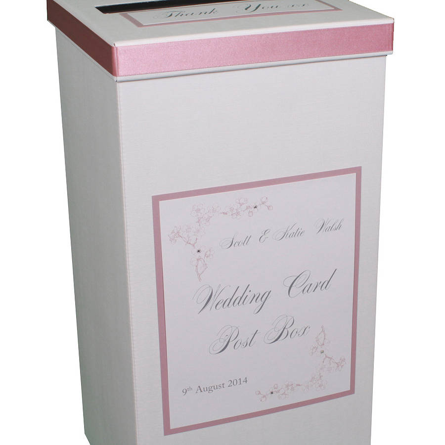 ... > DREAMS TO REALITY DESIGN LTD > PERSONALISED EMILY WEDDING POST BOX