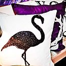 Strutting Flamingo Cushion
