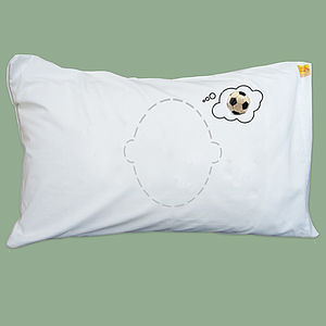 Football Dreams Pillowcase Gift For Football Lover - bed, bath & table linen