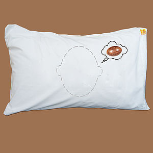 Head Case Rugby Dreams Pillowcase - bed, bath & table linen