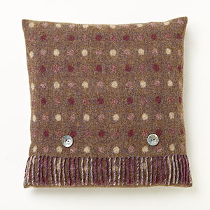 Grape Spot Cushion