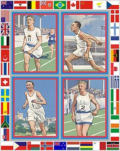 Four Runners By Peter Blake - posters & prints