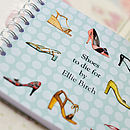 Personalised Shoes Notebook