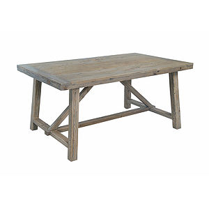 Reclaimed Timber Small Dining Table - furniture