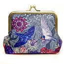 Sky Ink Silk Purse