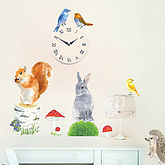 Woodland Animals Wall Stickers Size Small - easter