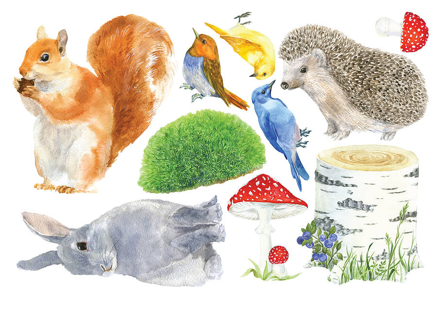 garden animals wall sticker - Garden Animals