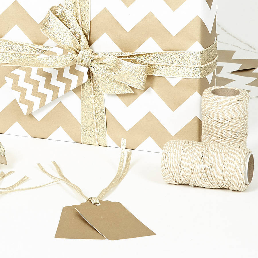 gold chevron white christmas wrapping paper by sophia. Black Bedroom Furniture Sets. Home Design Ideas