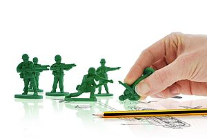 War On Errors / Soldier Erasers - stationery