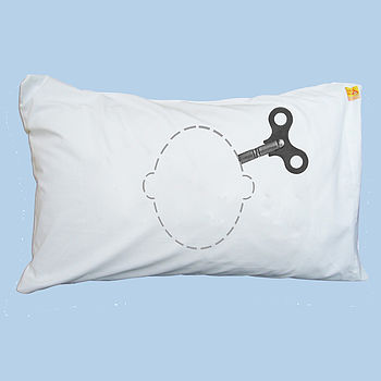 Head Case Wind-Up Key Pillowcase