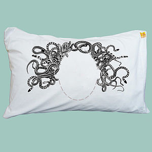Medusa Mum Head Case Pillowcase - soft furnishings & accessories