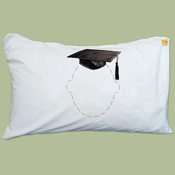 Head Case Mortar Board Pillowcase