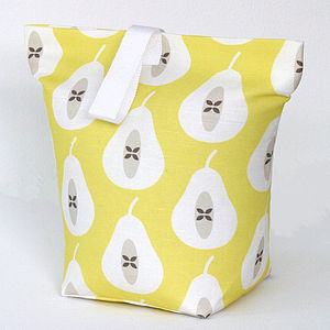 Pear Print Door Stop - office & study