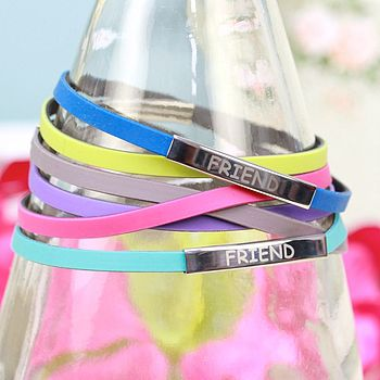 Friend Rubber Wristbands