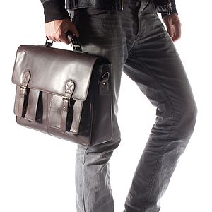 Corsa Leather Satchel - bags & purses