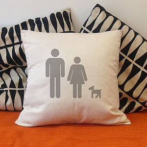 Personalised 'Family Cushion' - baby & child