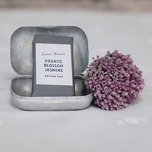 Orange Blossom And Jasmine Artisan Soap - bath & body