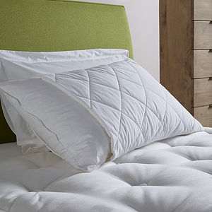 Deluxe Wool Pillow Protector