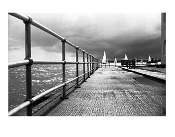 Brightlingsea, Black And White Signed Print