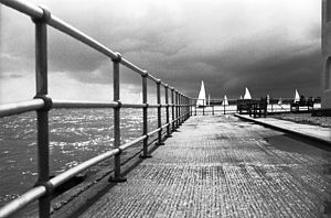 Brightlingsea, Black And White Signed Art Print - contemporary art