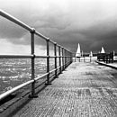 Brightlingsea, Black And White Signed Art Print